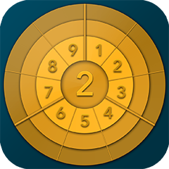 rundes sudoku - roundoku gold - the better sudoku - Ein rundes Erlebnis - icon